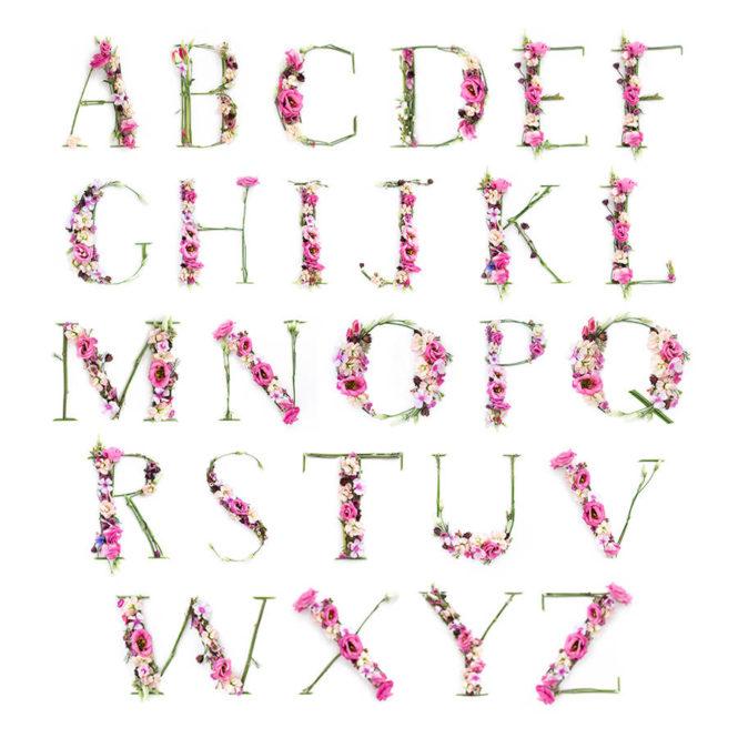 pink initial letter print bespoke personalised framed print birthday gift home decor kids bedroom art